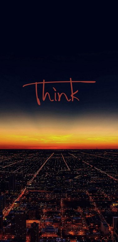 Think Wallpaper 720x1480 380x781