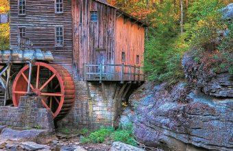 USA Stones Autumn Mill Glade Wallpaper 720x1520 340x220