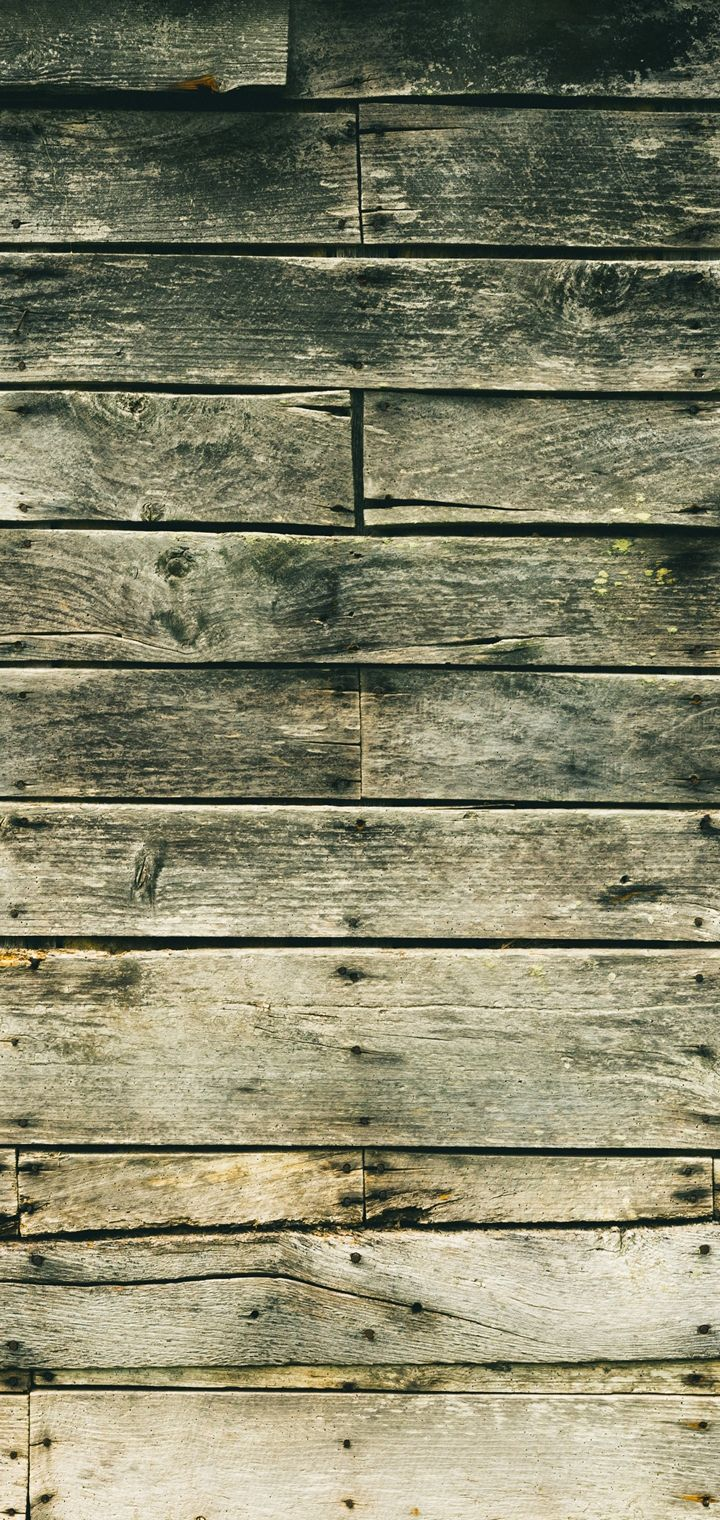 Wall Wooden Stains Wallpaper 720x1520