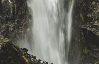 Waterfall Current Stones Wallpaper 720x1520 340x220