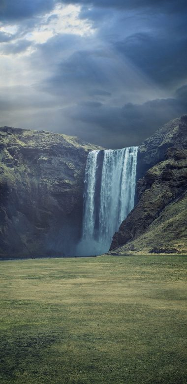 Waterfall Landscape Ultra HD Wallpaper 720x1480 380x781