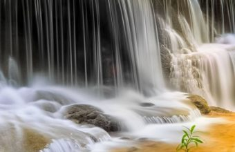 Waterfall River Landscape Nature Waterfalls Wallpaper 720x1520 340x220
