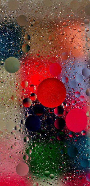 Wet Bubbles Wallpaper 720x1480 380x781