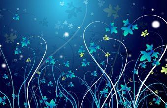 Winter Flowers Wallpaper 960x600 340x220