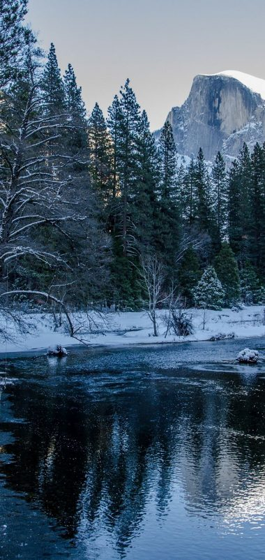 Yosemite National Park Winter Wallpaper 720x1520 380x802