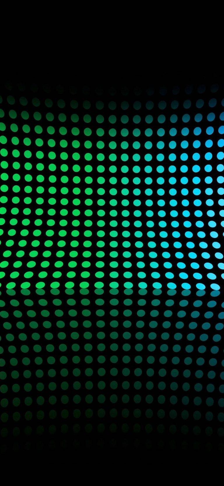 Abstract Multicolor Circles Rainbows 1080x2340 768x1664