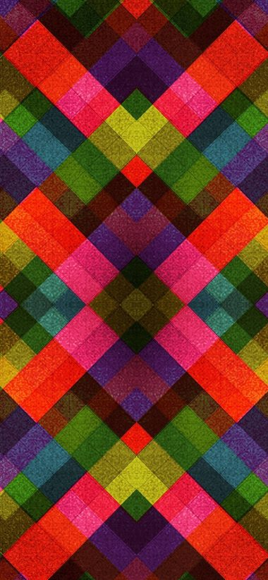 Abstract Multicolor Patterns Retro 1080x2340 380x823