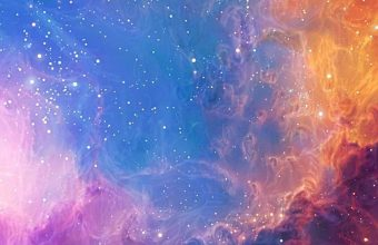 Abstract Outer Space Stars Nebulae 1080x2340 340x220