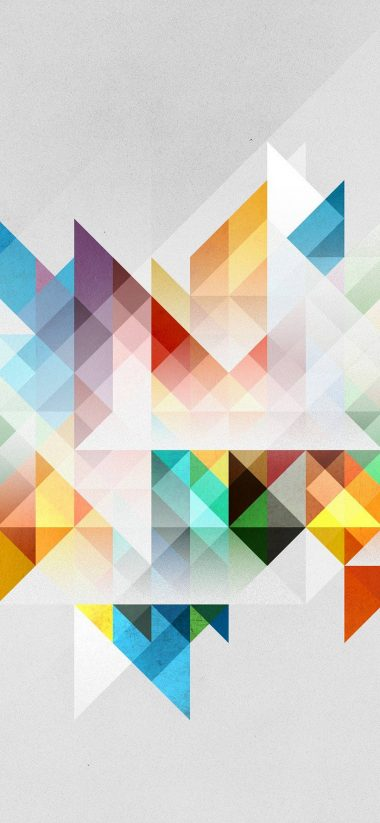 Abstraction Geometry Shapes 1080x2340 380x823