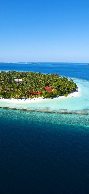 Amazing Maldives Island View 1080x2340
