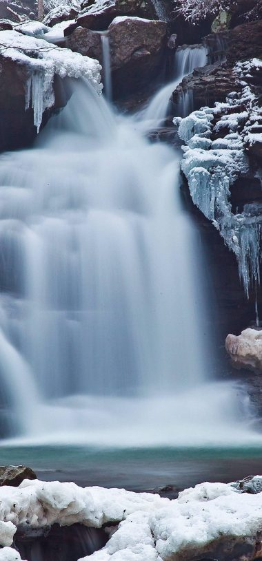 Amazing Waterfall Wallpaper 1080x2316 380x815