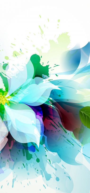Artistic Flower Wallpaper 1080x2316 380x815