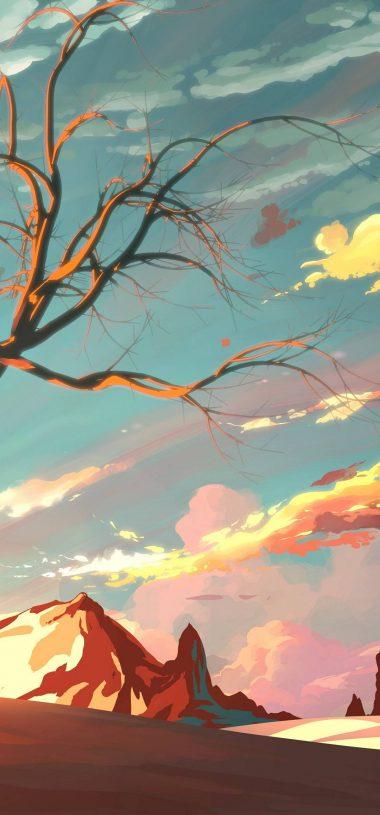 Artistic Landscape Wallpaper 1080x2316 380x815