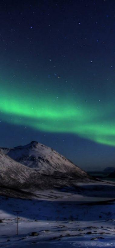 Aurora Borealis Wallpaper 1080x2316 380x815