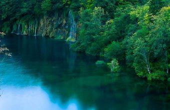 Autumn Forest Lake Trees Waterfalls 1080x2340 340x220
