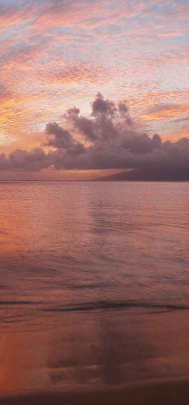 Beach Sunset Wallpaper 1080x2316 380x815