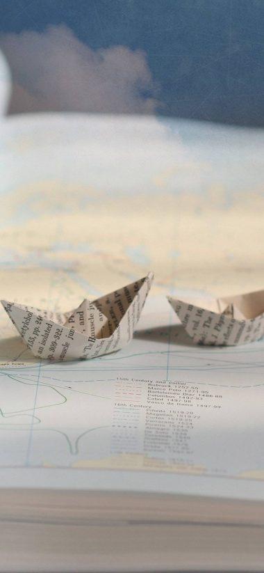 Boats Ships Paper 1080x2340 380x823