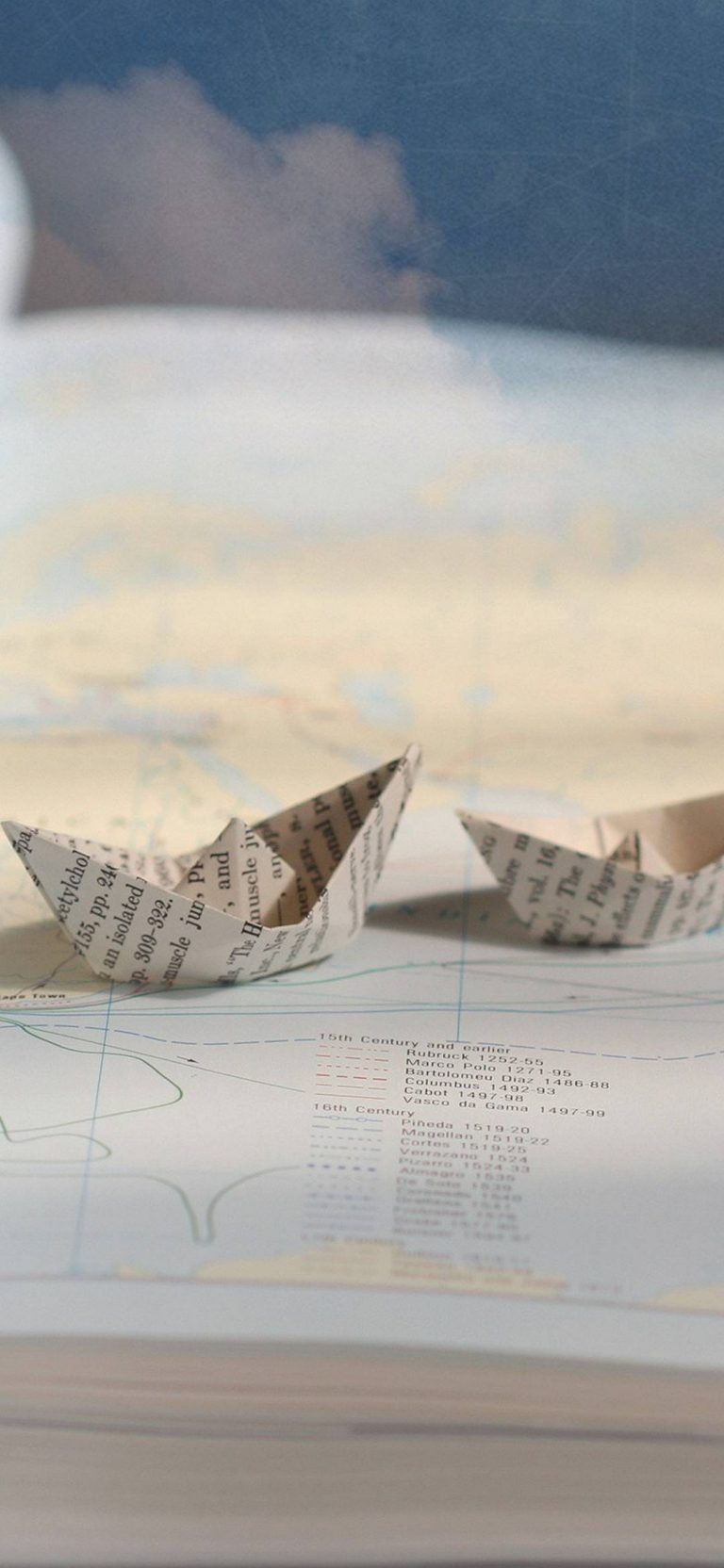 Boats Ships Paper 1080x2340 768x1664