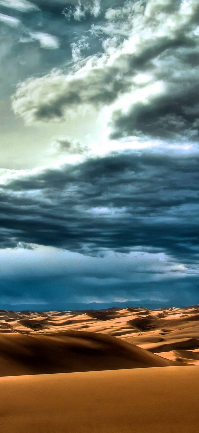Clouds Landscapes Nature Desert 1080x2340 768x1664