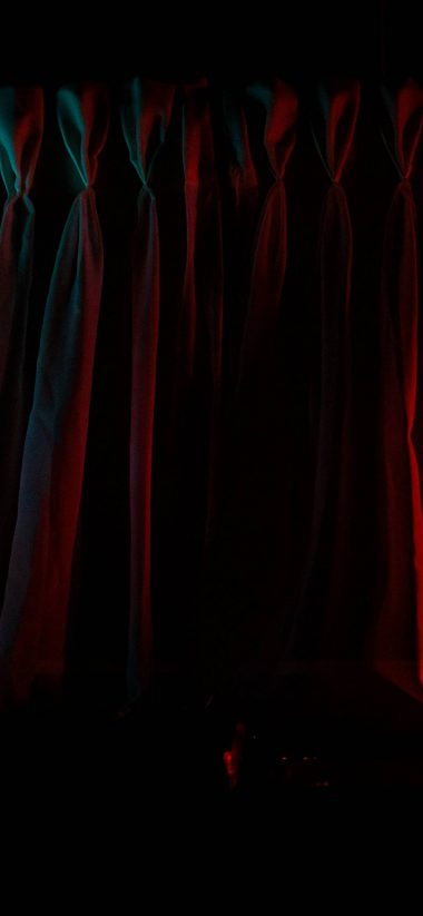 Curtains Dramatically Lit Wallpaper 1080x2340 380x823