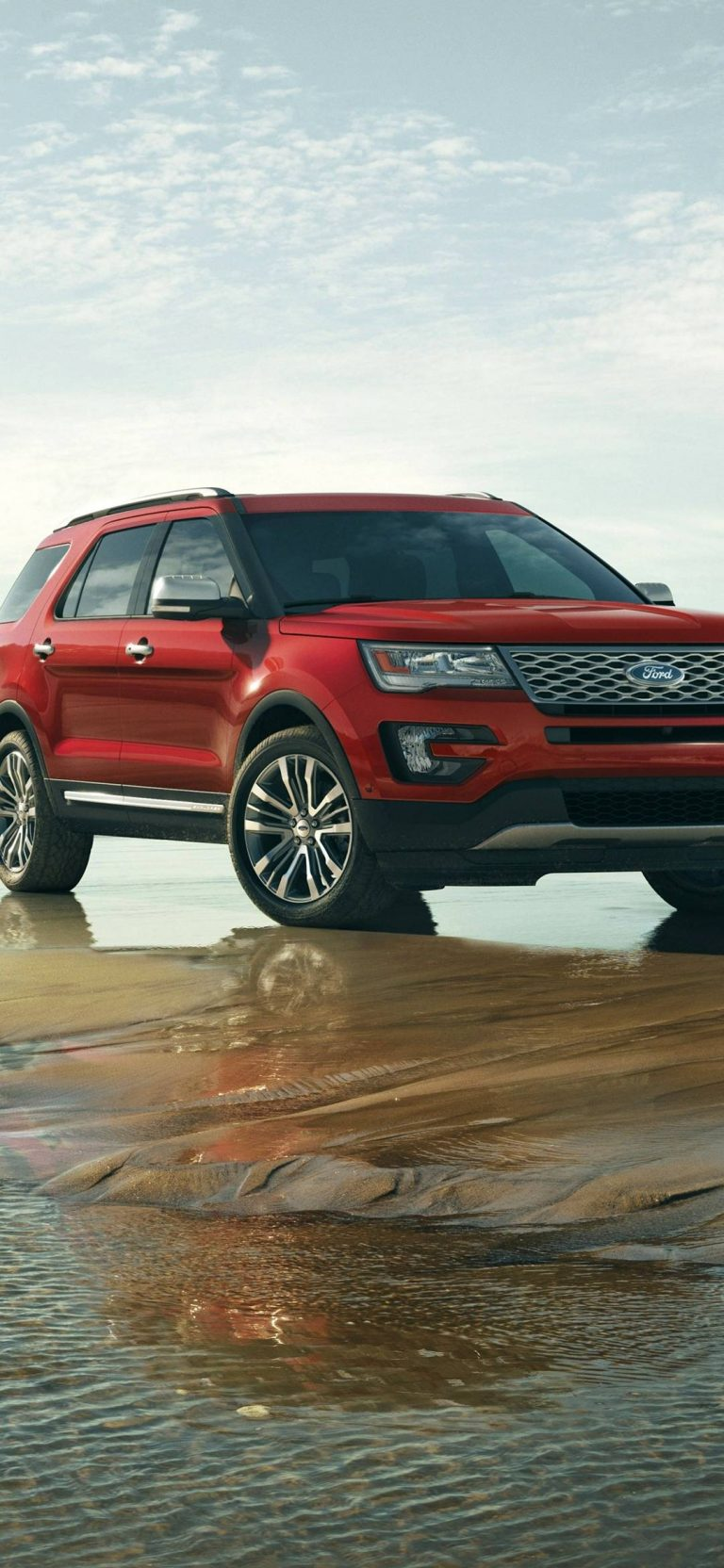Ford Explorer 2016 Wallpaper 1080x2340 768x1664