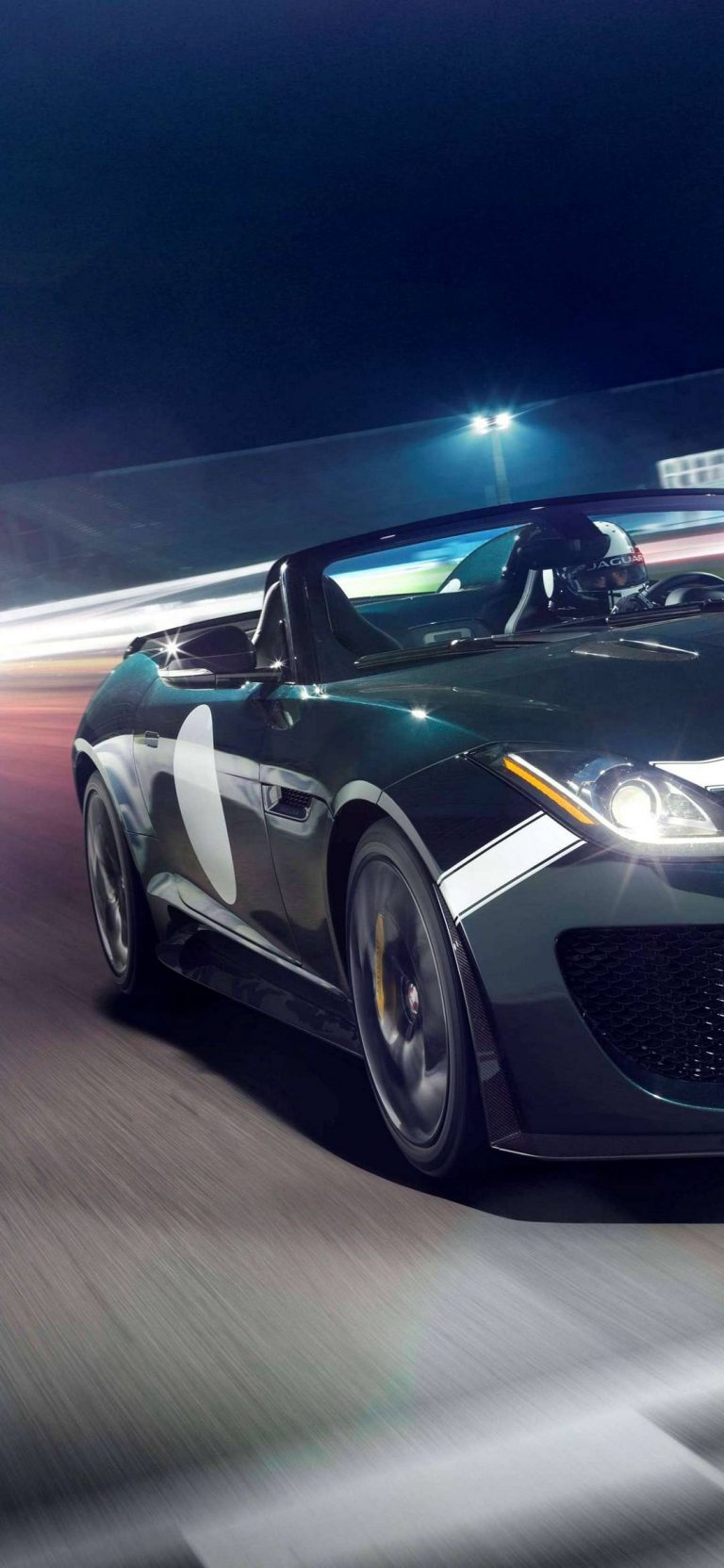 Jaguar F Type Project 7 2014 Wallpaper 1080x2340 768x1664