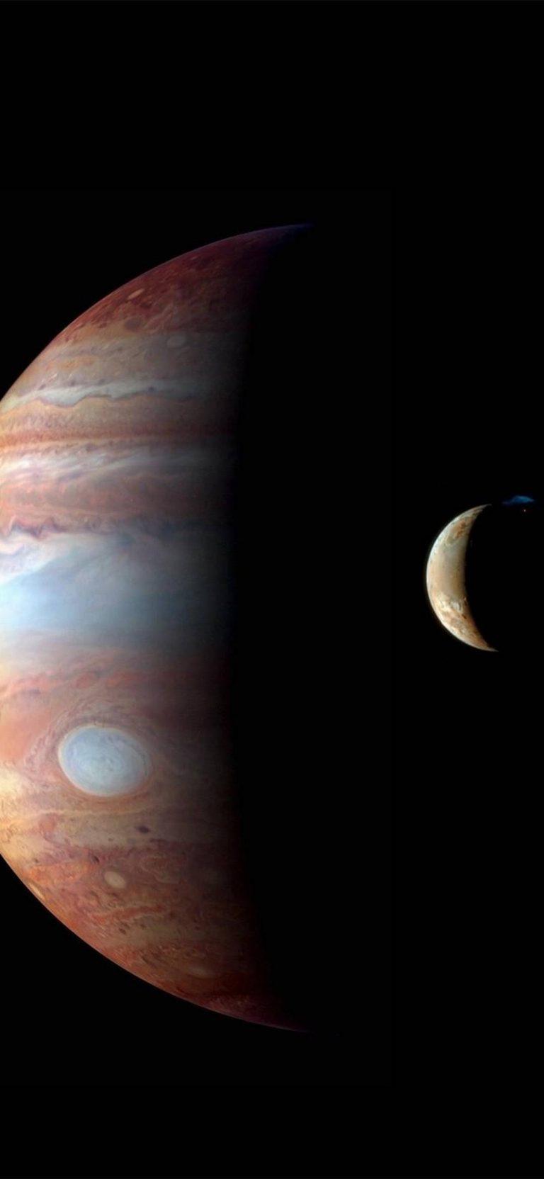 Jupiter Planet Moon 1080x2340 768x1664