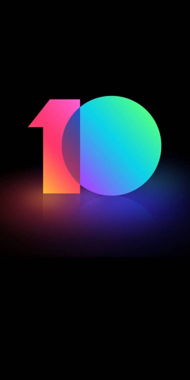 MIUI 10 Stock Wallpapers HD