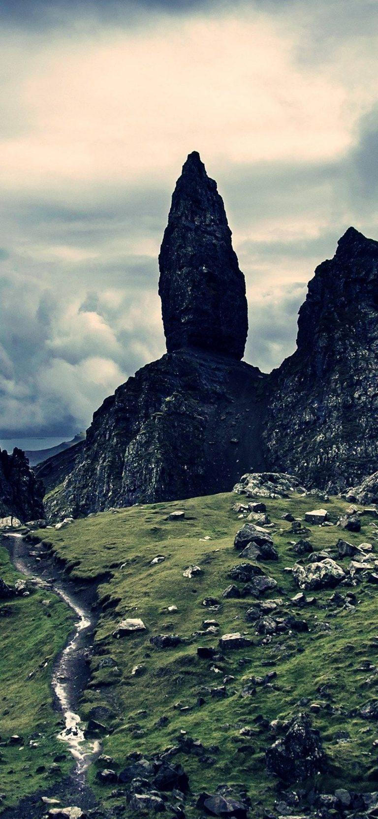 Mountains Landscape Rocks Stones 1080x2340 768x1664