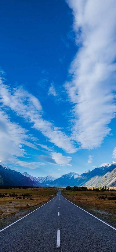 Road Sky Path 1080x2340 380x823