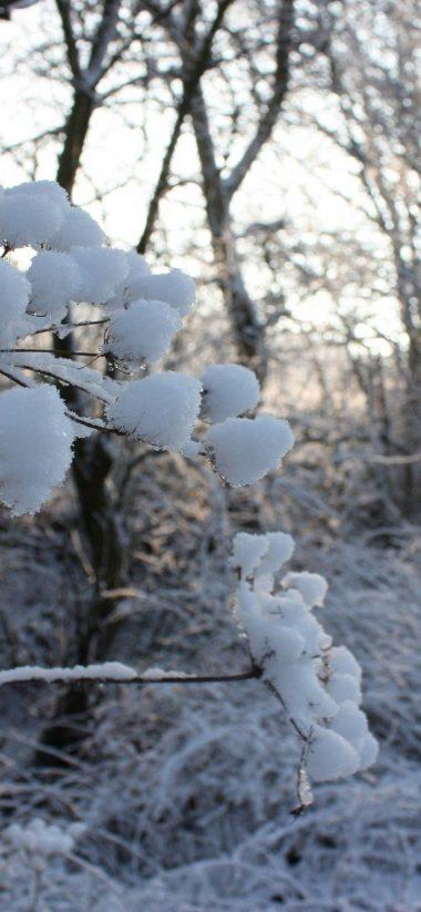 Road Snow Winter 1080x2340 380x823