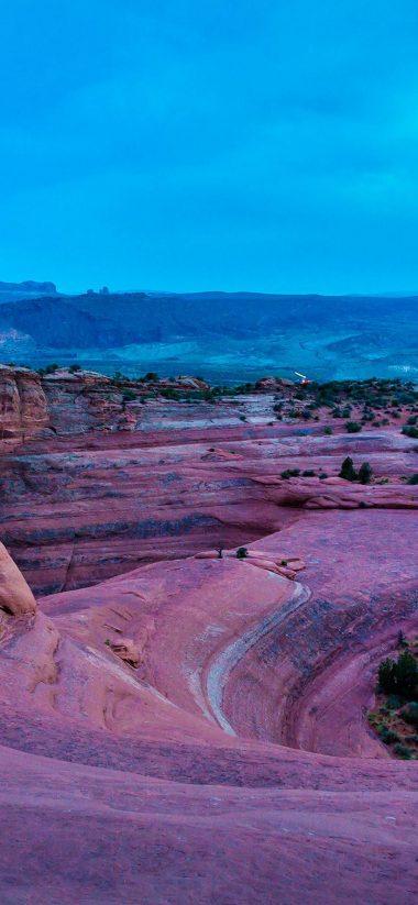 Rocks Stones Arch Desert 1080x2340 380x823
