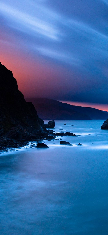 Rocky shore 1080x2340 - 1080 x 1080 background ...