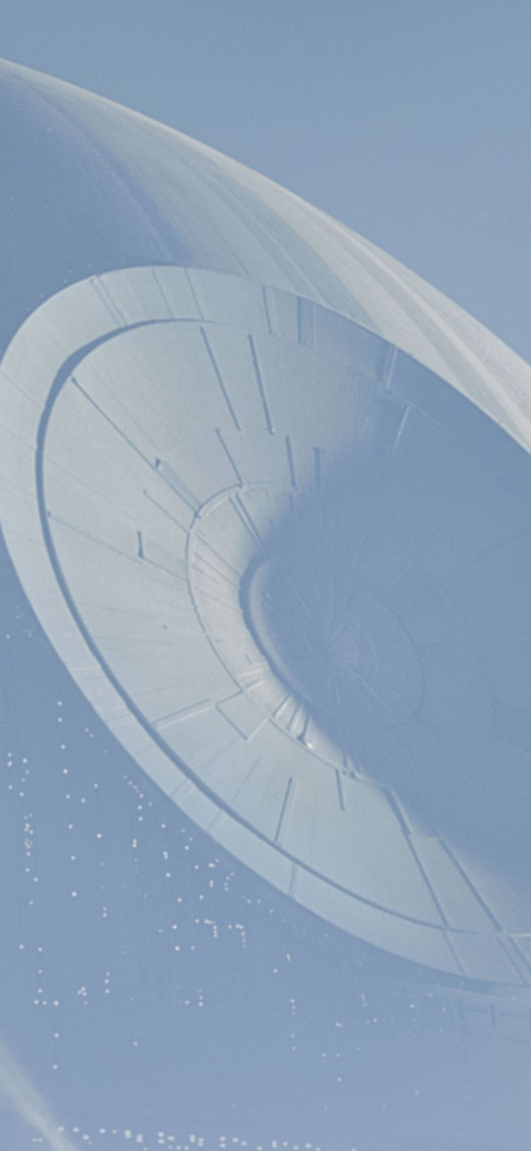 Rogue One A Star Wars Story Spaceship Wallpaper 1080x2340