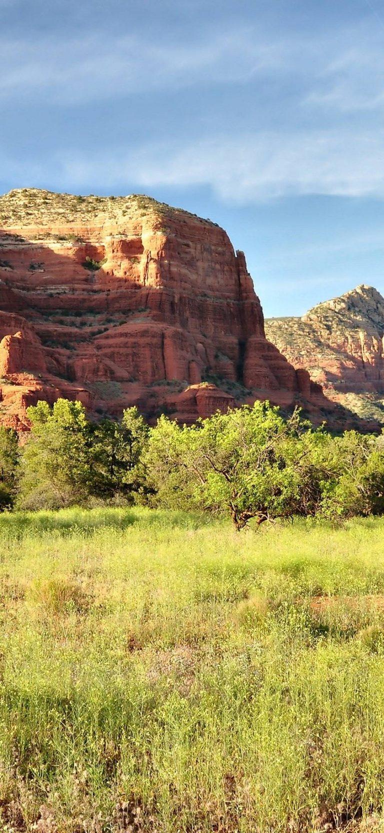 Sedona Arizona Mountains Rocks Trees 1080x2340 768x1664