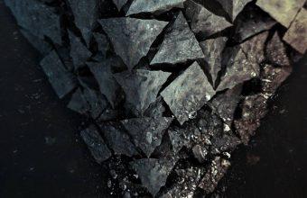 Shards Stone Background 1080x2340 340x220