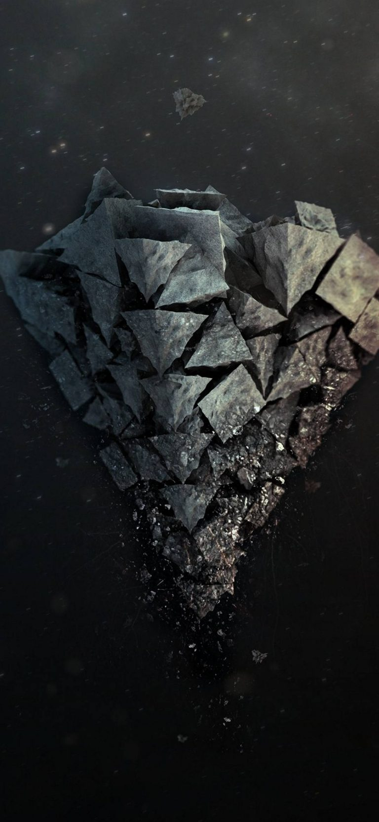 Shards Stone Background 1080x2340 768x1664