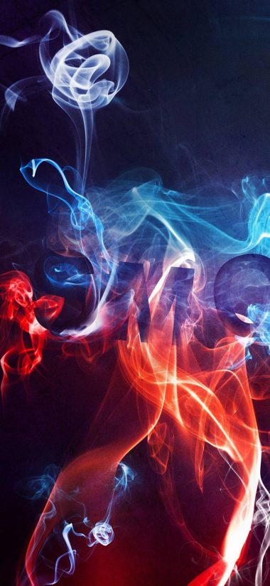 Smoke Color Background 1080x2340 380x823
