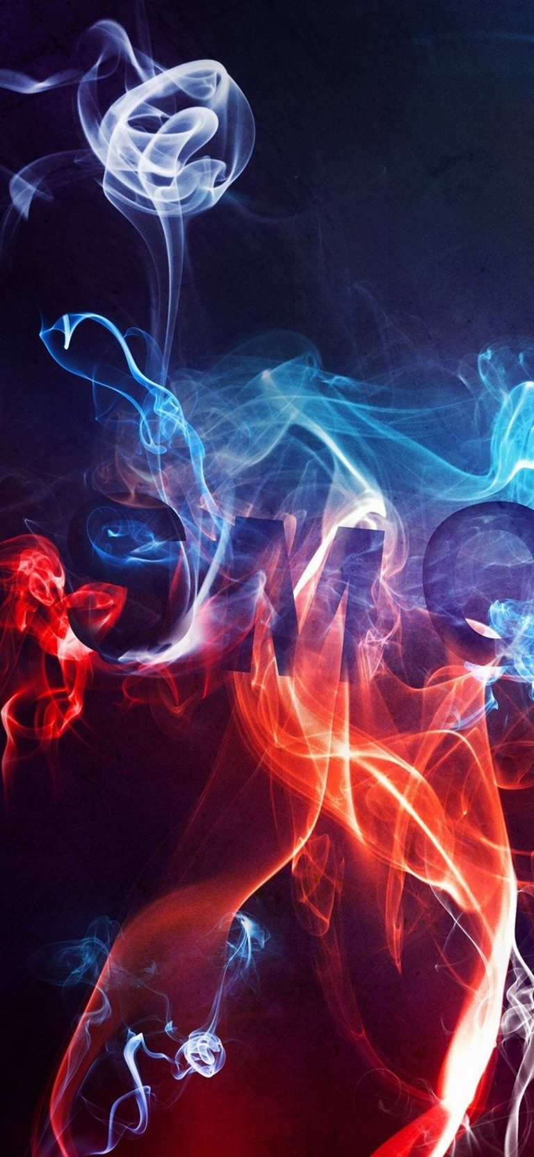 Smoke Color Background 1080x2340 768x1664