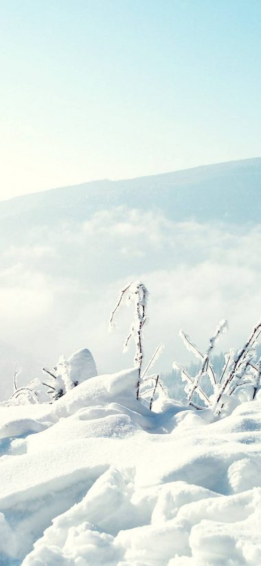 Snow Winter Mountains 1080x2340 380x823