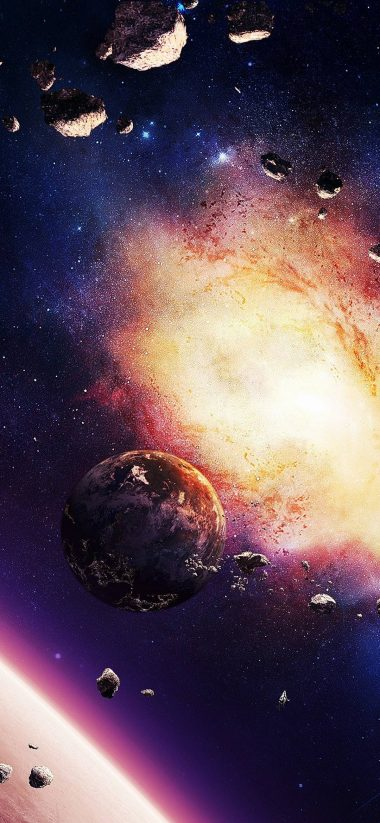 Space Planet Explosion 1080x2340 380x823