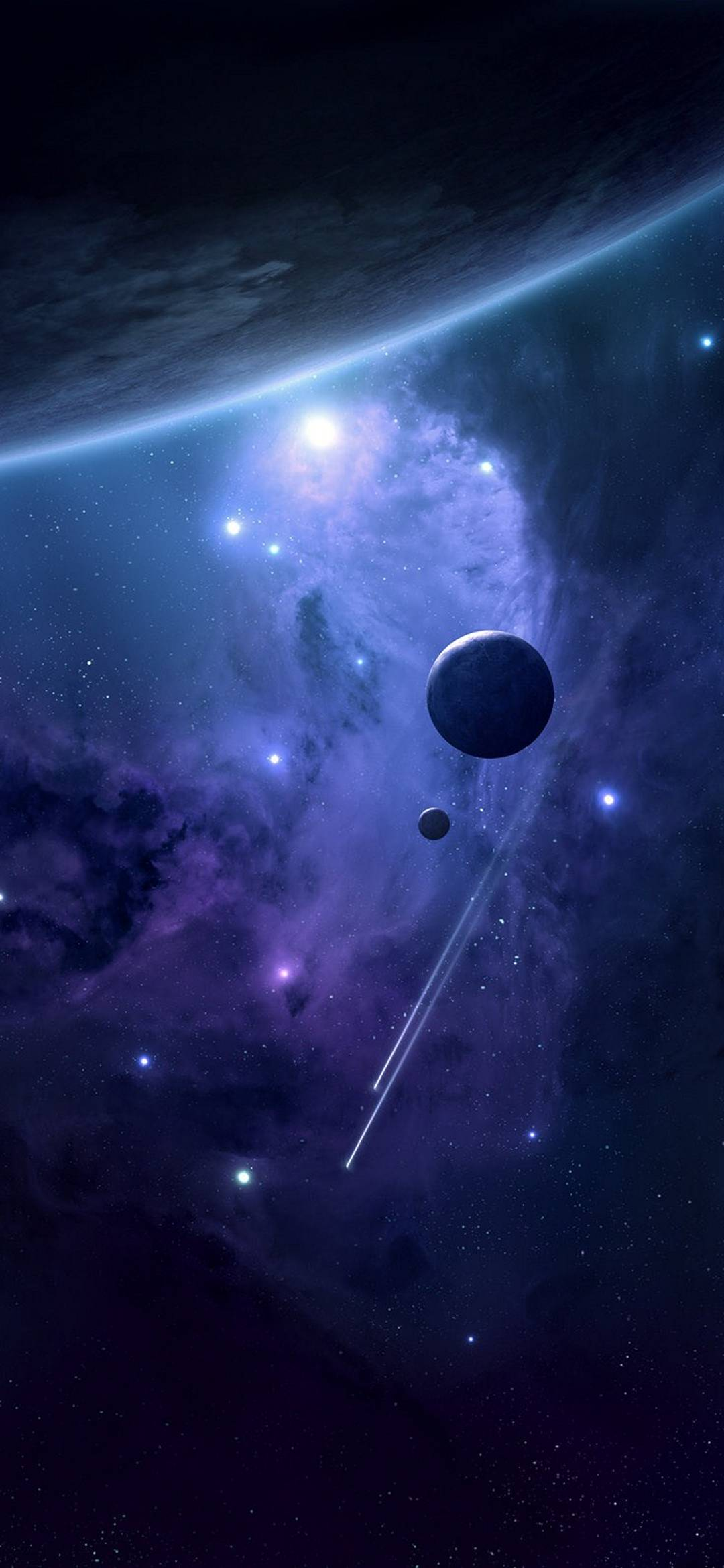 Space Planets Satellites 1080x2340