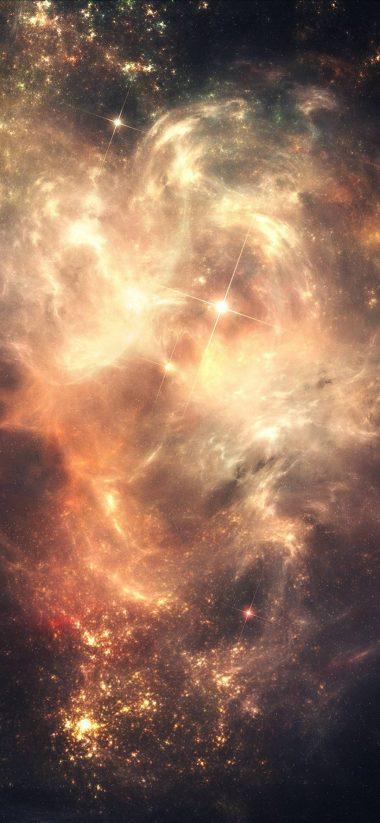 Space Stars Sky 1080x2340 380x823