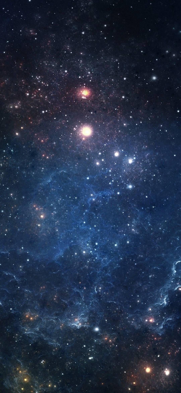 Wallpaper Nebula space stars Andromeda Space
