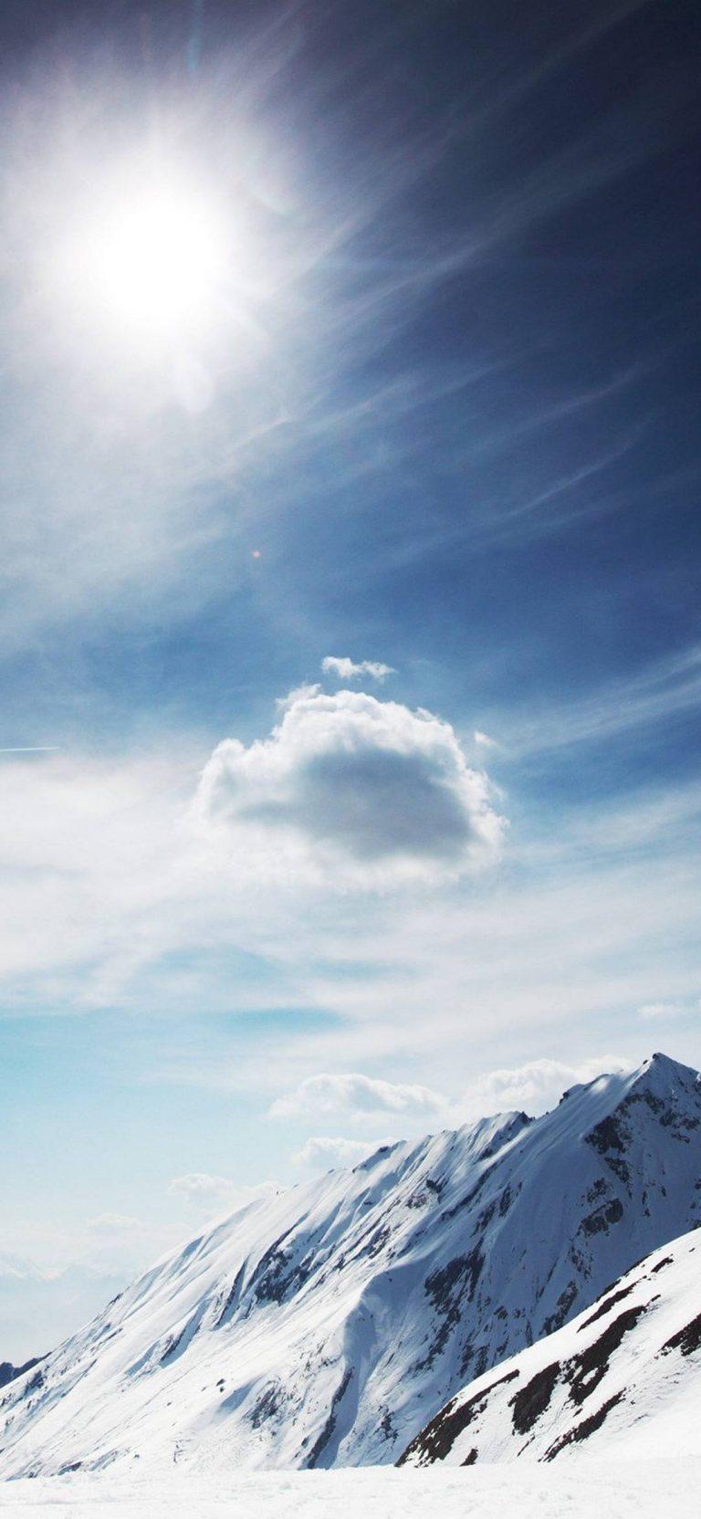 Sunny Snowy Mountains 1080x2340 768x1664