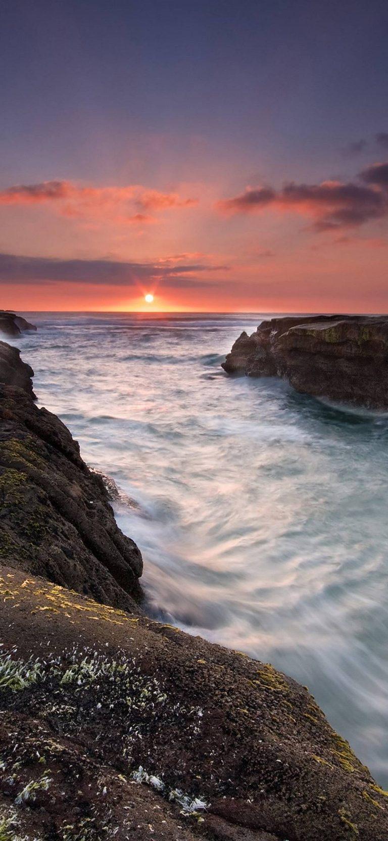 Sunset At Muriwai Beach 1080x2340 768x1664