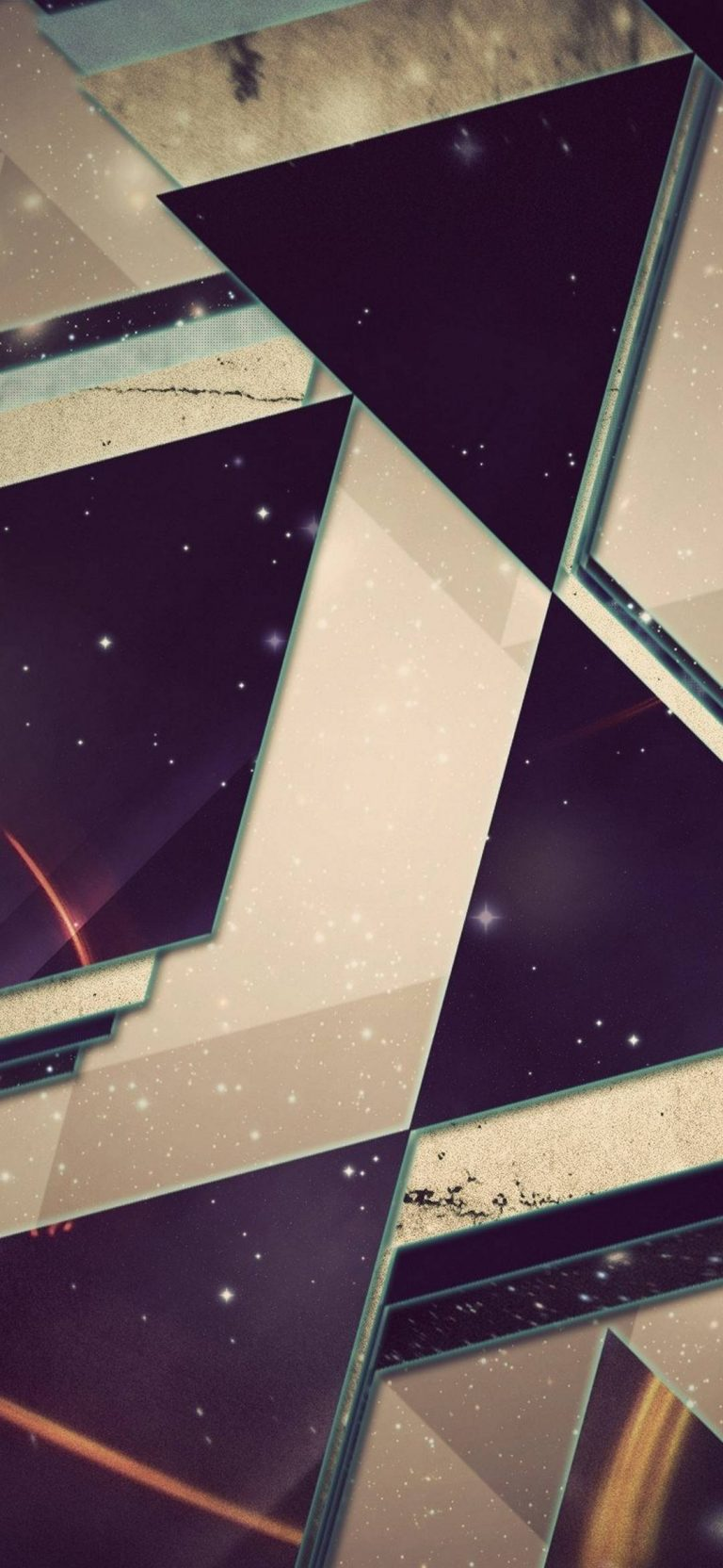 Triangles Background Light 1080x2340 768x1664