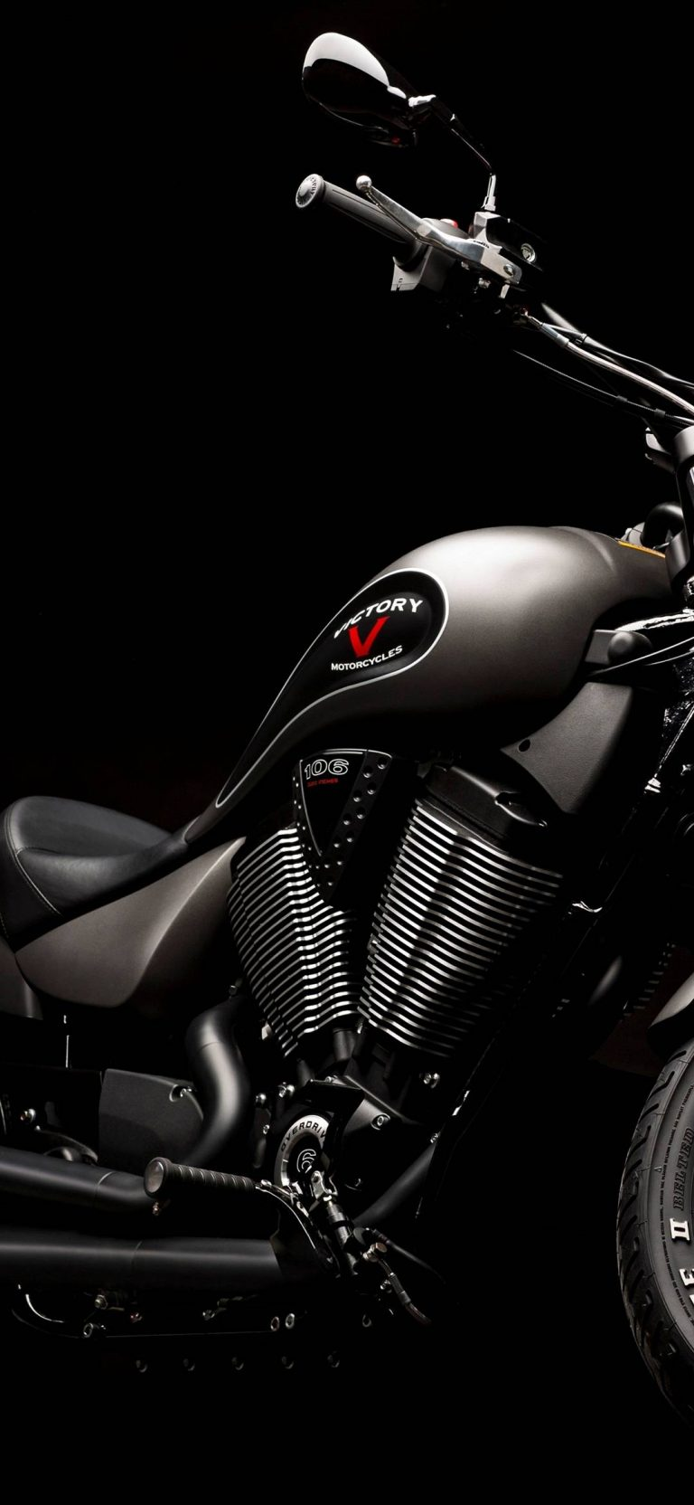 Victory Gunner Motorcycle 2015 Wallpaper 1080x2340 768x1664