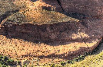 Water Nature Canyon Cliffs Horseshoe 1080x2340 340x220