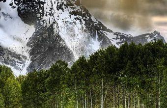 Winter Mountain With Lake 1080x2340 340x220
